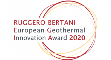 Ruggero Bertani European Geothermal Innovation Award EGIA 2020